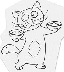 07 кот весы