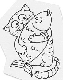 12 кот рыбы