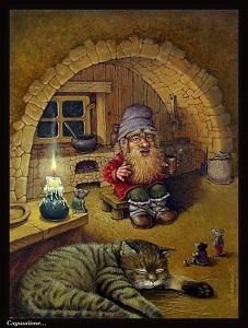 домовой и кот