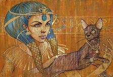 культ кошки в Египте