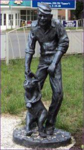 Памятник коту в Армовире