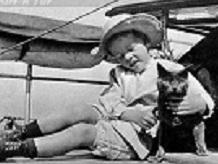 Сын президента с котом