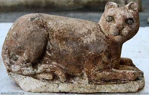 киприотская статуя кошки