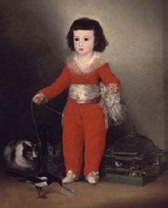 мальчик с кошками